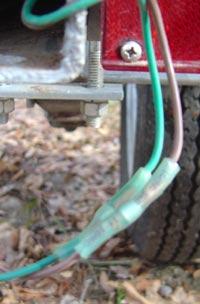 boat trailer lights crimp connector