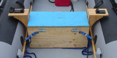 Inflatable Boat Seats Check Out My Custom Bench Seat