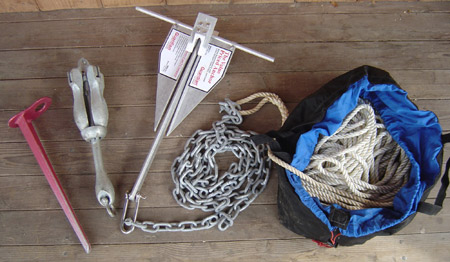 complete boat anchor system
