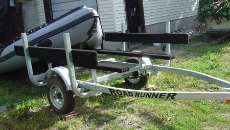 Zodiac Inflatable Boat >> Inflatable Boat Trailers: Using Small Boat Trailers