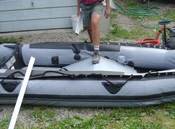 inflatable boat floor