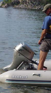 my second inflatable boat