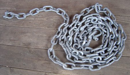 boat anchor system chain